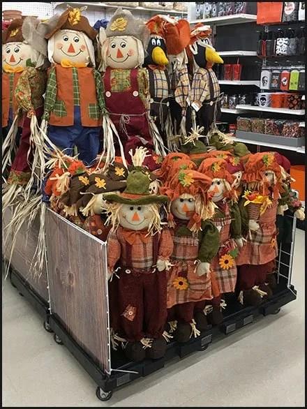 Scarecrow Military Square Merchandising