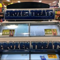 Double-Decker Freezer Frozen Treats Cooler