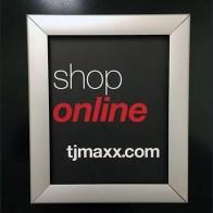 Shop TJMaxx Online Restroom Advertising