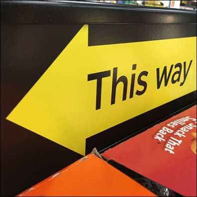 This Way Queue Management Directional
