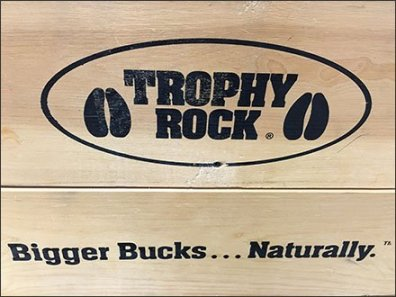 Trophy Rock Salt Lick Wood Brochure Holder