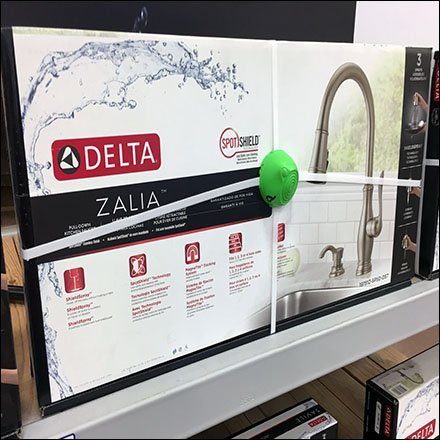 Delta Kitchen Faucet Anti-Theft Spider