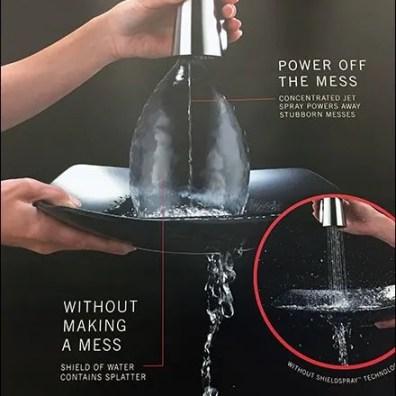 Delta Kitchen Faucet Oversize Endcap Display