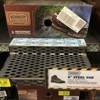 Diamond Perforated Shelf-Edge Shoe Ledge 1