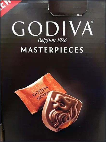 Godiva Chocolate Masterpieces Display