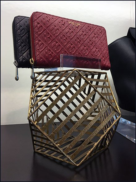 Henri Bendel Geodesic Purse Pedestal