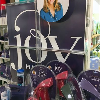 Joy Mangano Colorful Cleaning Supplies