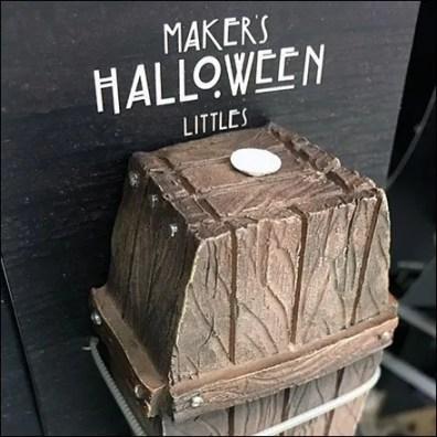 Littles Zip Tie Carded Halloween Coffin