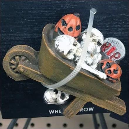 Littles Zip Tie Carded Wheelbarrow