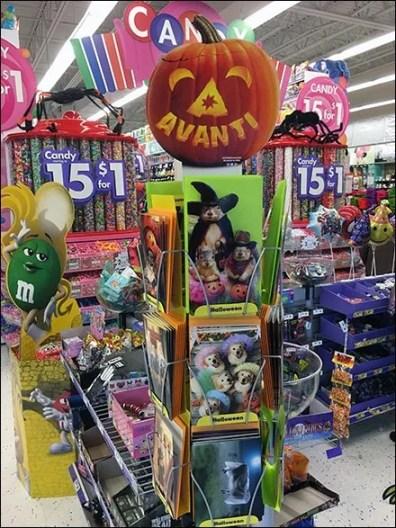 Freestanding Mini Halloween Card Tower