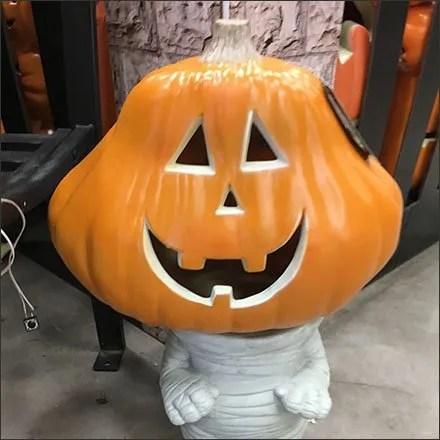 Mummified Pumpkin-Headed Boy Merchandising