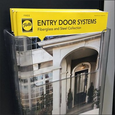 Pella Entry Door Systems Literature Holder Feature