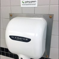 Restroom Hand Dryer Turns Over New Leaf