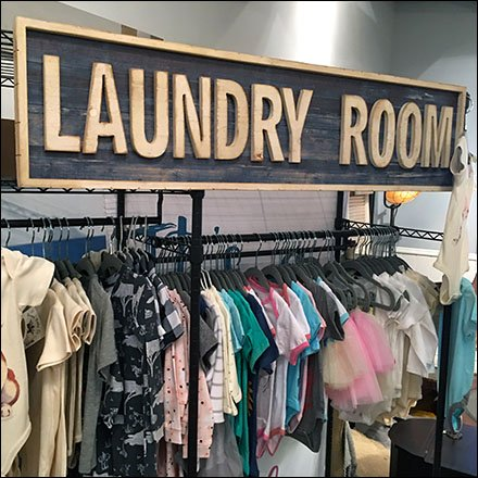 Laundry Room Apparel Merchandising