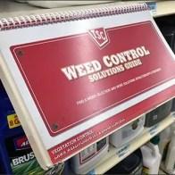 Shelf-Edge Spiral-Bound Weed Control Guide