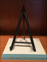Tripod A-Frame Easel For Book Display