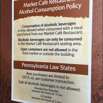 Tight Alcohol Regulation In Retail Sales
