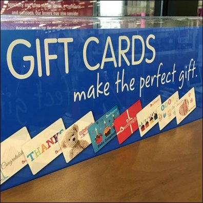 Gift Are Perfect Mobile Slatwall Display