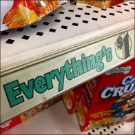 Dollar Tree Everything's $1 Shelf Edge C-Channel Tag Line Feature