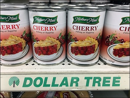 Dollar Tree Shelf Edge C-Channel Branding