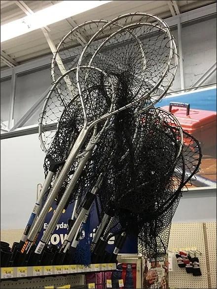 Fishing Net Shelf-Top Holsters En Masse