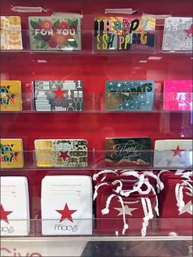 Give Them The Stars Branded Gift Cards