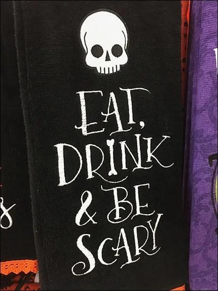 Halloween Hand Towel Hook Merchandising