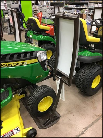 Convex Sign System for John Deere Equipment