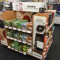 Keurig Coffee Favorites Island Display