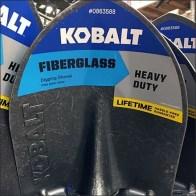 Embossed Shovel Blade Kobalt Branding