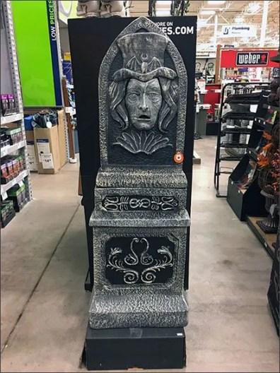 Graveyard Monument Merchandising Showcase