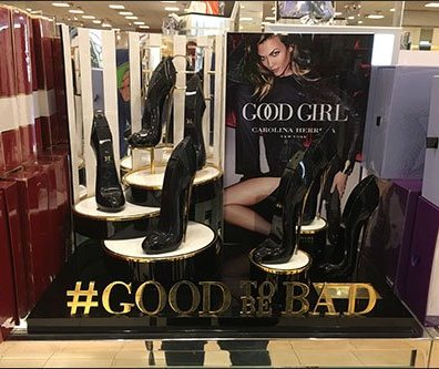 Good Girl #GoodToBeBad Hashtag Display