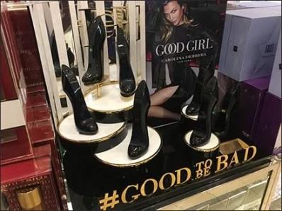 Good Girl #GoodToBeBad Hashtag Display