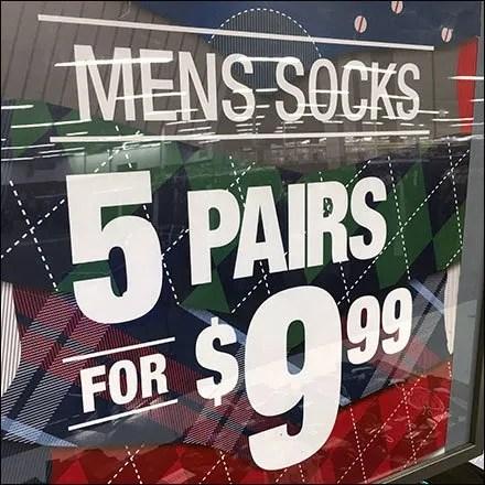 Men's Sock Island Multi-Pair Promotion Feature