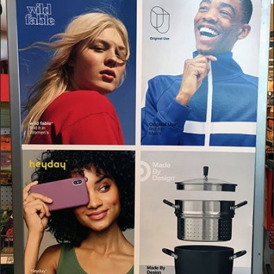 Multi-Brand Billboard At Store Entry
