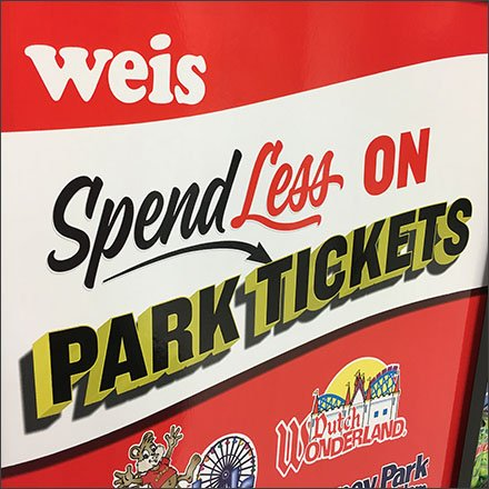 Now Buy Your Amusement Park Tickets At Weis