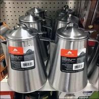Stainless Steel Coffee Pot Merchandising