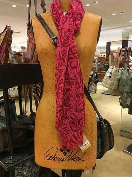 Patricia Nash Branded Dress Form Display