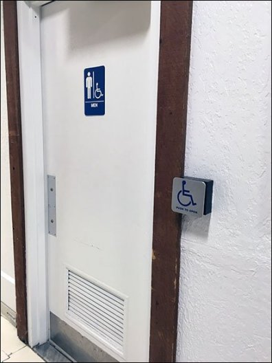 Restroom Door Automation in Modern Retail