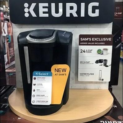 Keurig Coffee Pallet Load Shelf-Display
