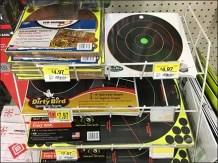 Shooting Target Shelf-Top Declined Wire Rack