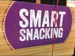Smart Snacking Matching Tent Sign Square