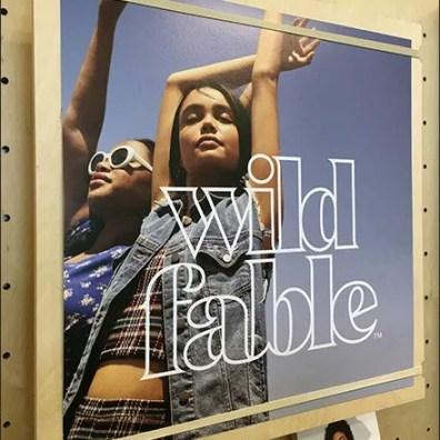 Wild Fable Photo Montage Merchandising