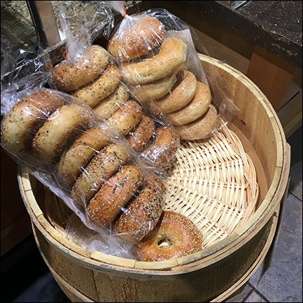 Bagel Barrel Grab-N-Go Bakery PrePack