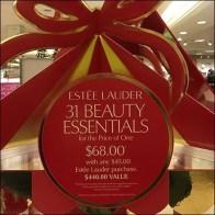 31 Beauty Essentials Estee Lauder Holiday Tower