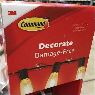 Decorate Damage-Free Command Strip Mini Sidekick