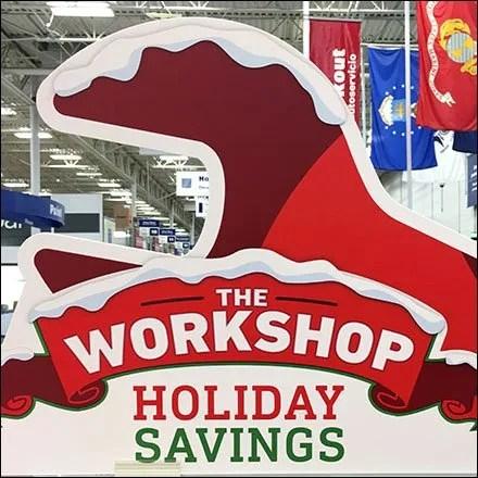 Craftsman Christmas Workshop Promotion