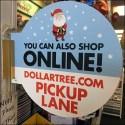 Dollar Tree Online Order Pickup Lane