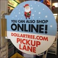 Dollar Tree Online Order Pickup Lane Square1