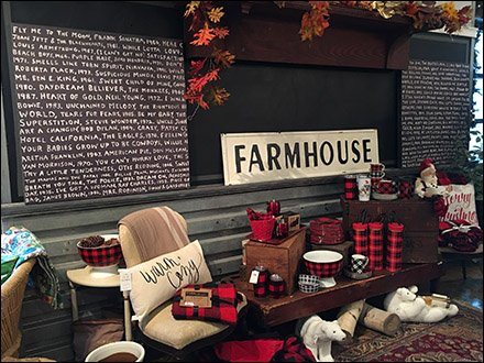 Farmhouse Visual Merchandising for Sophisticates 1